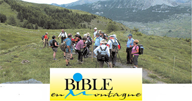 Bible en montagne - Session 2019