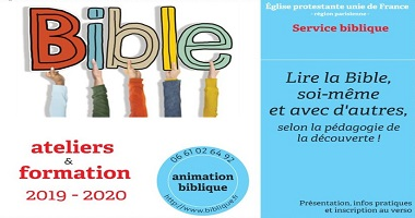 Ateliers & formation Animation biblique 2019-2020